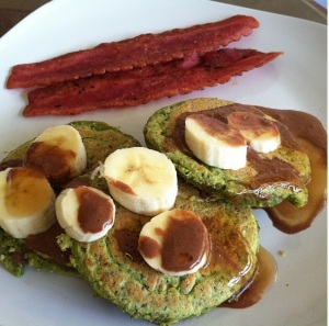 Hulk Pancakes