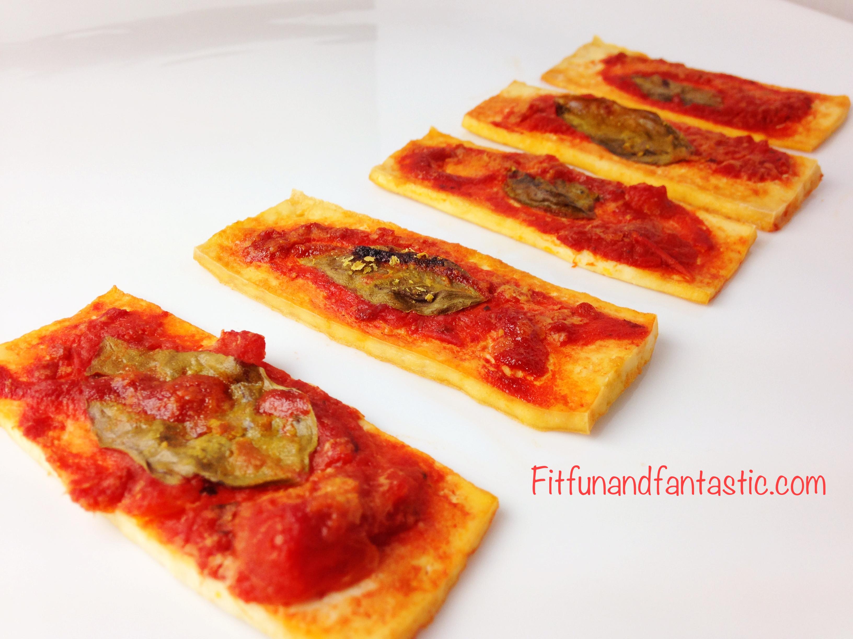 Tomato Basil Tofu Pizza | Fantastically Fit