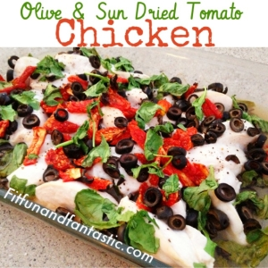 Olive and Sun Dried Tomato Chicken