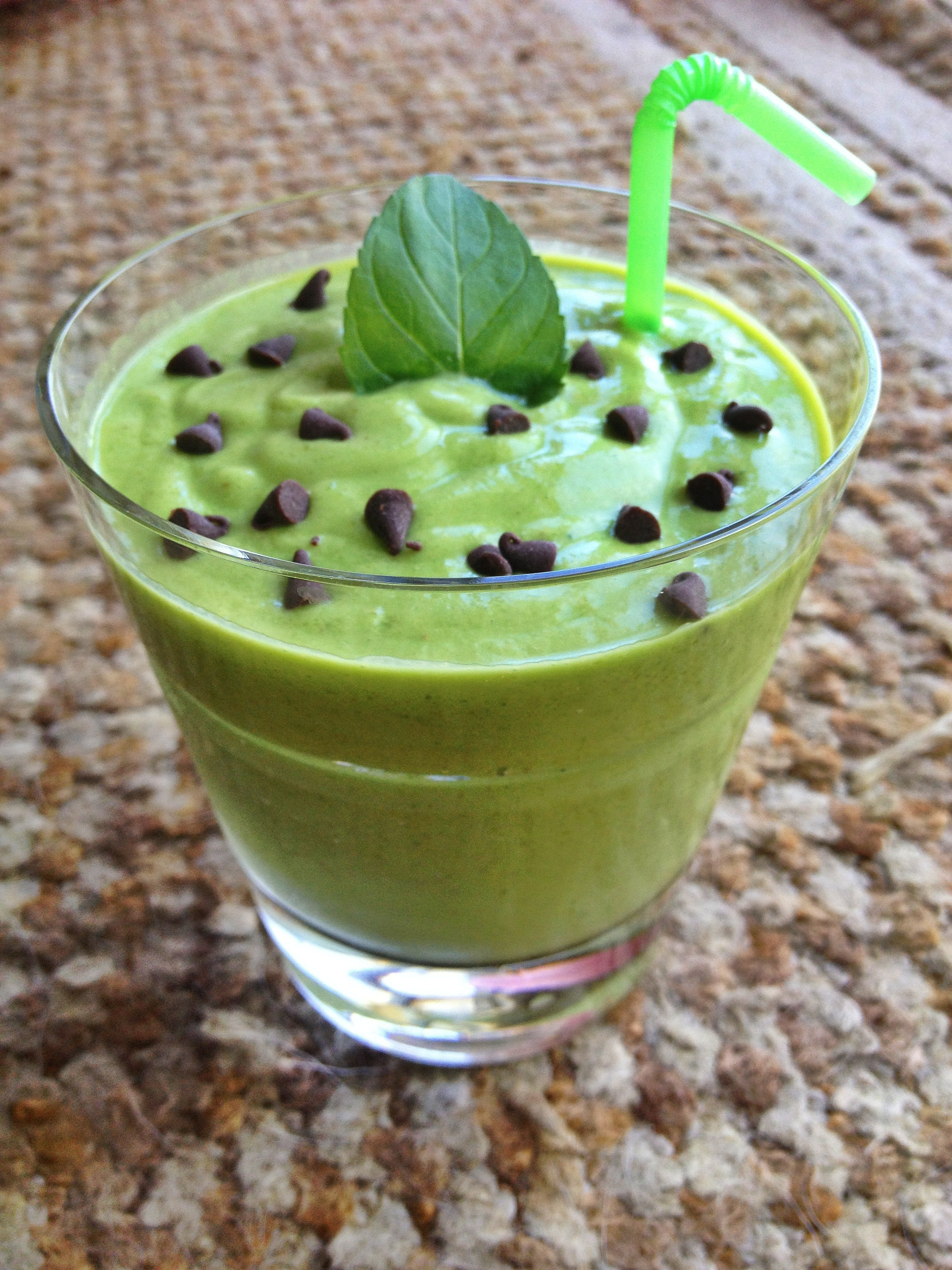 Mint Chocolate Protein Shake Mint Chocolate Chip Protein