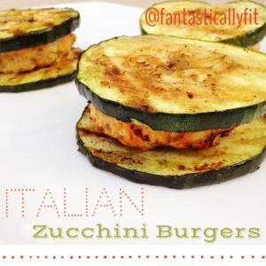 Italian Zuchini Burgers