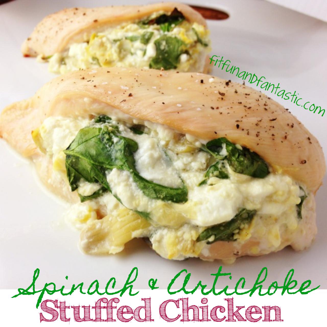 Stuffed chicken recipe healthy