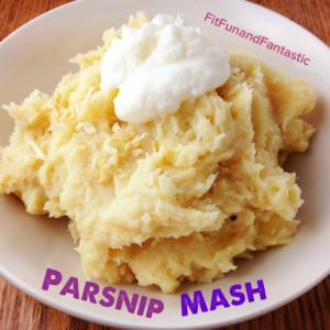 Parnsip Mash