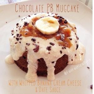 Chocolate PB Mugcake