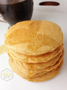 Hazelnut Coffee Pancakes