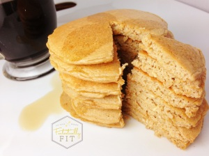 Hazelnut Coffee Pancakes